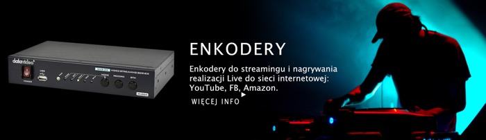 WAMM DataVideo Enkodery Dekodery Streaming