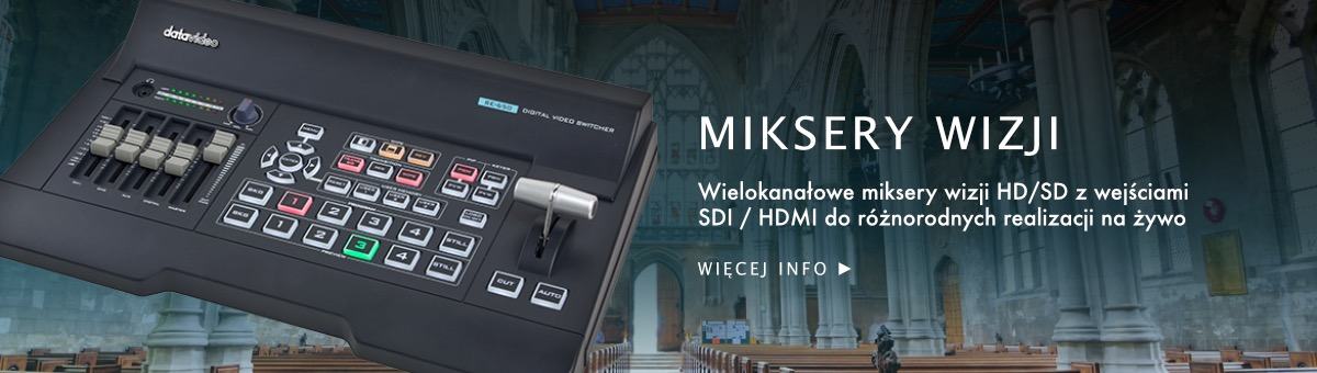 TOP banner DataVideo Miksery